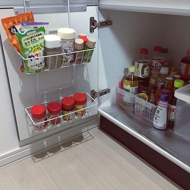 食品収納アイデア総集編 ケースやラックでキッチンを整理整頓
