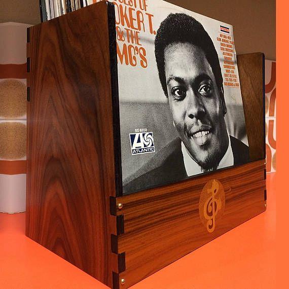 Record Crate  Seahorse Elite ltd. Edition exotic wood