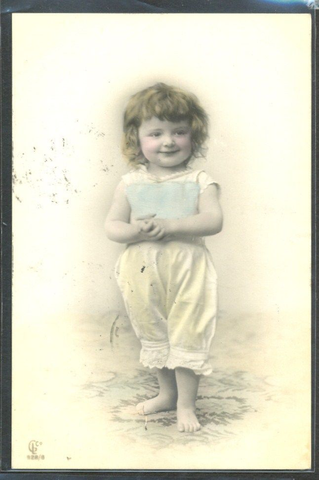 JM098 Fillette Panty Edwardian Baby Girl Panty Photo D'Art 1906 GL Co | eBay