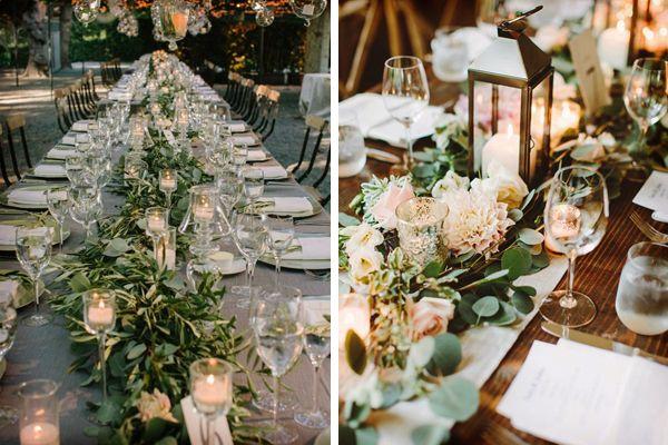 Caminos para decorar las mesas de la boda caminos mesas y boda - Mesas decoradas para bodas ...
