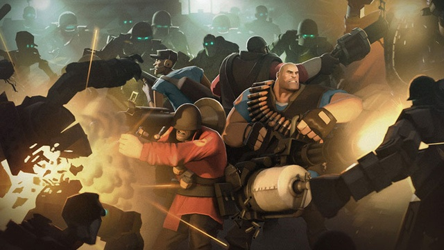 This ladies, gentlemen, and others is Team Fortress 2. Team Fortress 2 (TF2) is a kick-ass game with a lot of shooting, strategizing, and death..so to say. I really like this game for its graphics, storylines for each character, and all the other add-ons