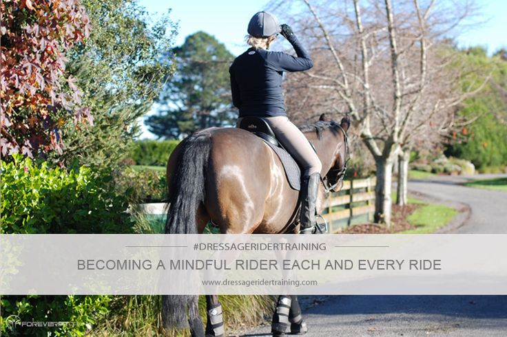 Becoming a more mindful rider each and every ride