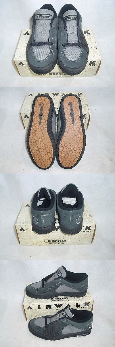 Vintage 114248: Vintage Nos Airwalk Footwear 19Oz Series Slate/Grey Size 8 Sk8 Bmx Shoes BUY IT NOW ONLY: $39.99