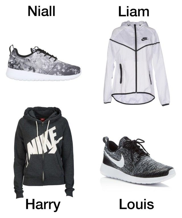"""""""The Nike gear he buys you"""" by holcombeipod ❤ liked on Polyvore featuring NIKE"""