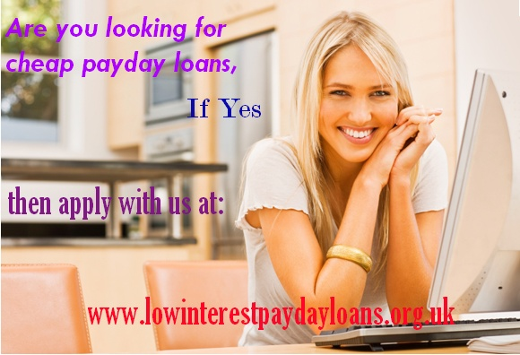 Low Interest Pay Day Loans offer payday loans for people who find it difficult to handle a number of documents for availing cash. We can arrange  loans like payday loans, pay day loans UK, low interest payday loans, same day payday loans etc without any hassle.