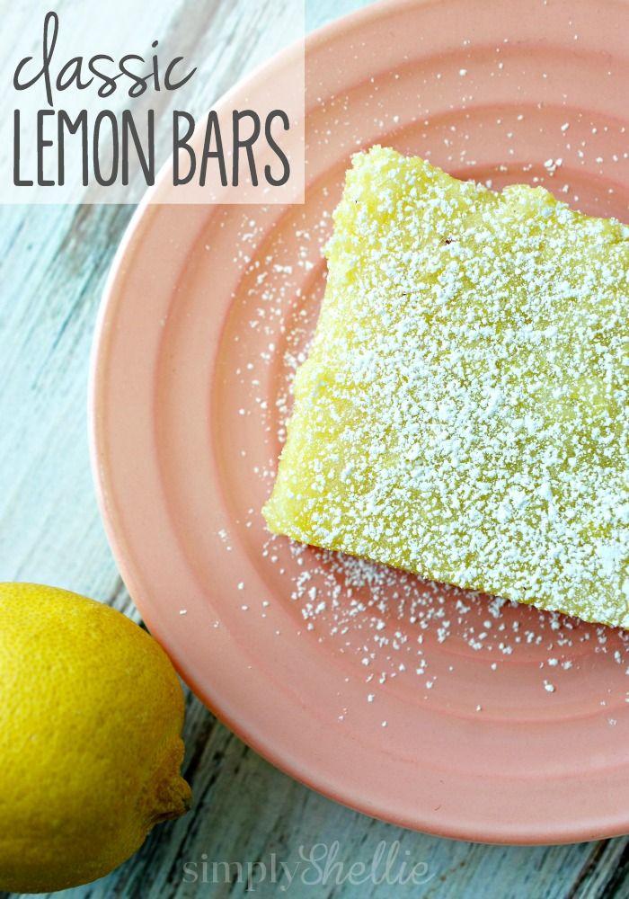... Lemon Bar Recipes, Perfect Desserts, Desserts Bark Bar, Classic Lemon