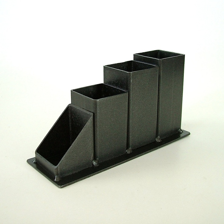 citizenobjects - Industrial Steel Desk Organizer