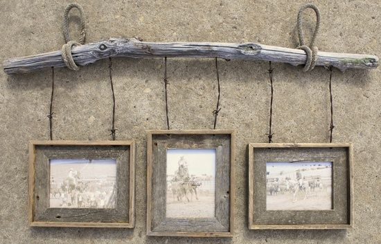 bobwire crafts   Barb wire crafts / Barnwood and Barbwire Hanging frame built by Nicole ...