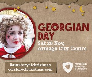 It's Georgian Day this Saturday in Armagh with SO much fun lined up for all the family! VisitArmagh  Read more at http://whatsonni.com/event/34262-georgian-day-armagh/armagh-city-centre-locations