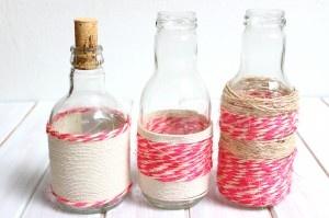 Reutiliza #botellas y decora tu #mesa