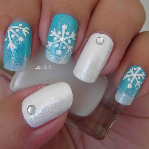 18 Easy & Cute Christmas Nail Art Designs, Ideas & Trends 2015