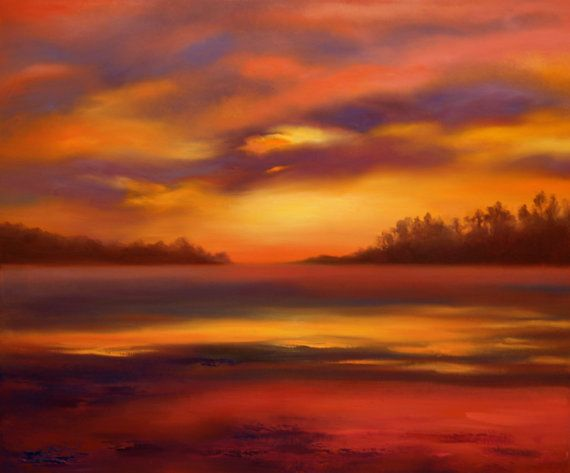 Original oil painting on canvas 'Warmth' by kokorevicaieva on Etsy