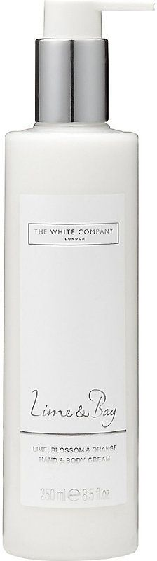 The White Company Lime & bay hand and body cream 250ml