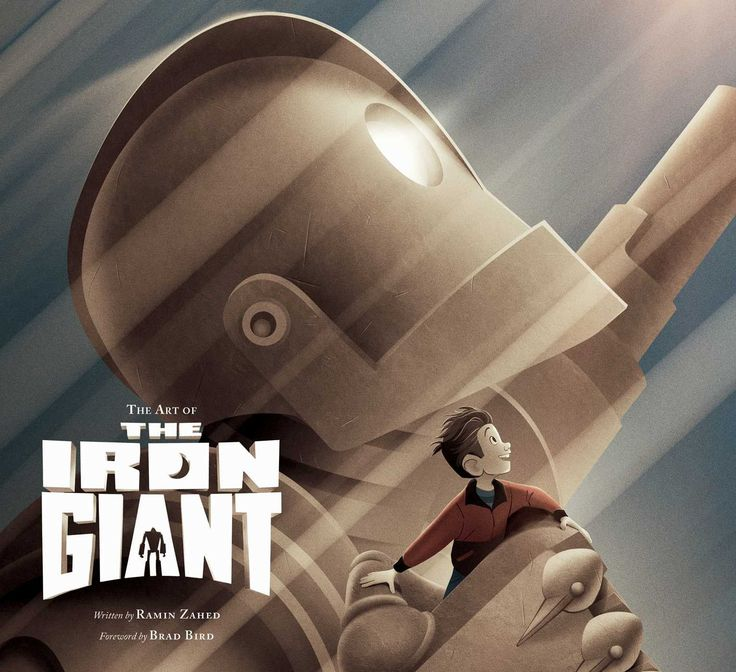 "Cover for ""The Art of the Iron Giant"""