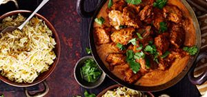 It's no wonder that chicken tikka masala has become one of Britain's favourite takeaways. The mouthwatering sauce is truly irresistible – and in our version, tender chunks of marinated chicken breast are grilled on skewers for extra flavour. Best of all, you'll save 14½ Syns.
