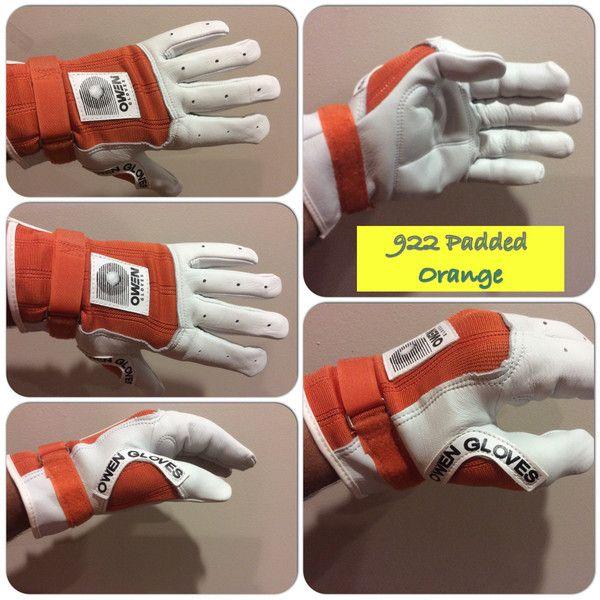 Owen Gloves 922 Padded Orange – New York Handball Store