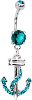 #Body Candy               #ring                     #Blue #Zircon #Cubic #Zirconia #Anchor #Belly #Ring #Body #Candy #Body #Jewelry                         Blue Zircon Cubic Zirconia Anchor Belly Ring | Body Candy Body Jewelry                                  http://www.seapai.com/product.aspx?PID=1194036