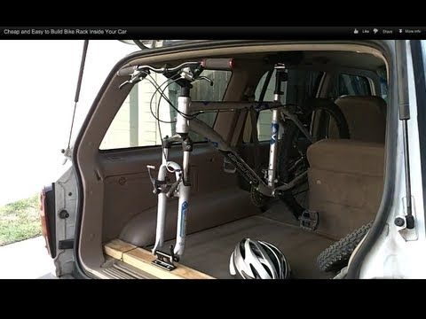 DIY SUV bike rack                                                                                                                                                                                 More
