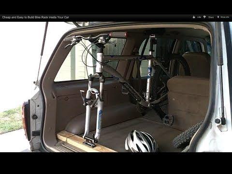 DIY SUV bike rack