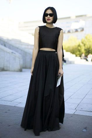 Tiffany Hsu does modern minimalism the gothic way. Very dramatic! Grazia Daily