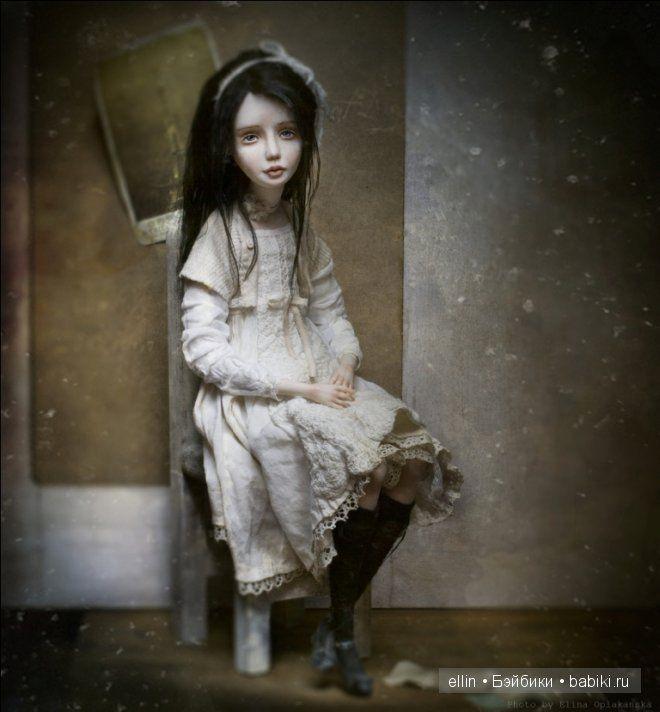 Маленькие шедевры - авторские куклы Елены Оплаканской