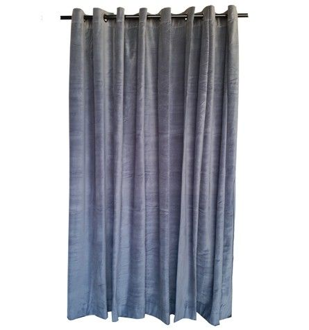 I've always really liked the look of velvet curtains like this one. I especially like the grey color of this one, it would match our room very well. My husband has trouble sleeping with too much light, so maybe thick curtains like this could help prevent light pollution.