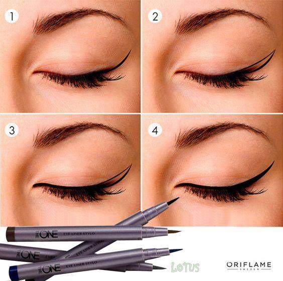 REKOR SATIYOR !!! Oriflame The ONE Kalem Eye Liner, yumuşak keçe ucu ve yoğun rengi ile keskin, pürüzsüz ve kolay uygulama sağlar. Uzun süre kalıcıdır. Suyla, terlemeyle, ağlamayla, ovalamayla çıkmaz.. #oriflame #güzellik #makyaj #göz #gözmakyajı #kadin #eyeliner