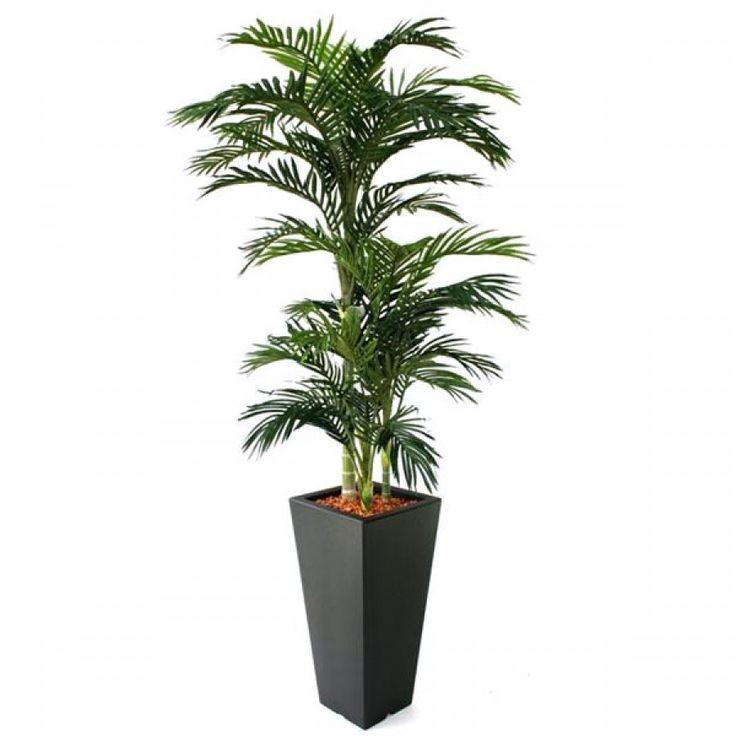 Palmier areca artificiel canne verte de 180cm - Plantes Artificielles et Arbres…