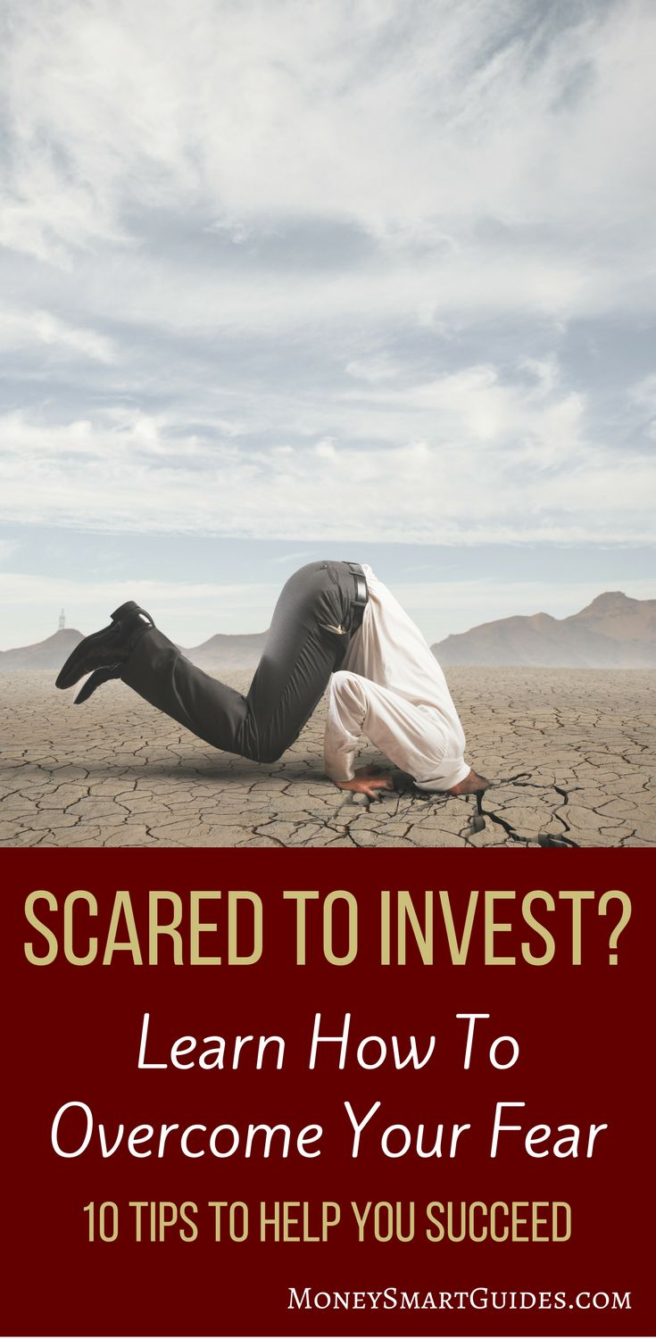 A Delightfully Simple Plan To Invest When You Are Scared Of The Stock Market | If the stock market scares you, you need a plan to overcome your fear so you can start investing. Learn how to overcome your fears and invest with confidence. Click through to learn how! via @moneysma