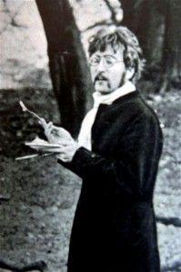 John Lennon. Wish it was in color