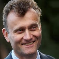 Hugh Dennis - British comedian and actor has a 1st in Geography from Cambridge University.