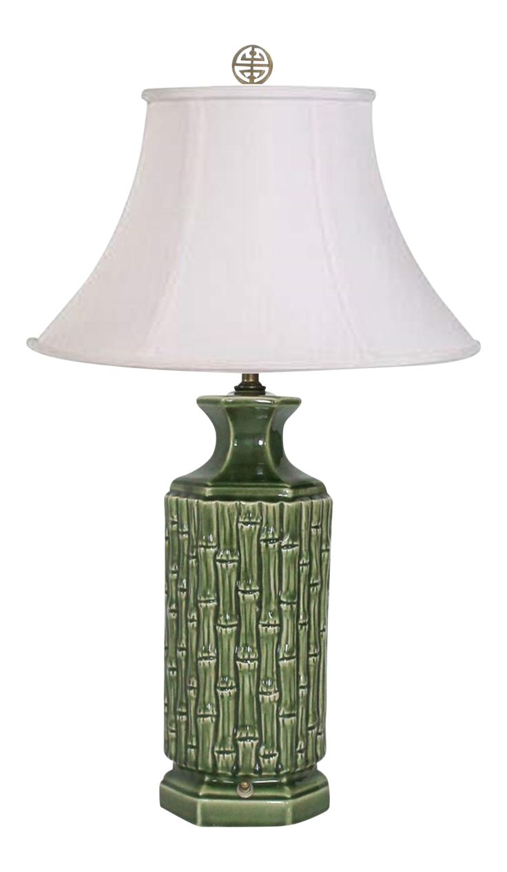 Faux Bamboo Table Lamp on Chairish.com
