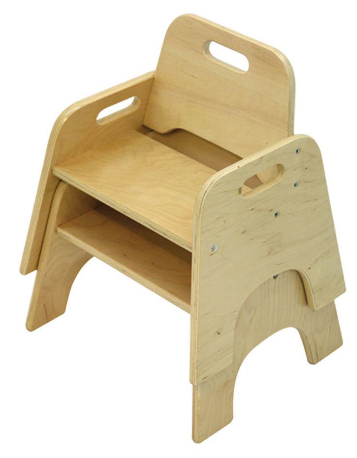 A+ Child Supply Beige Stackable Kid's Chair   Wayfair
