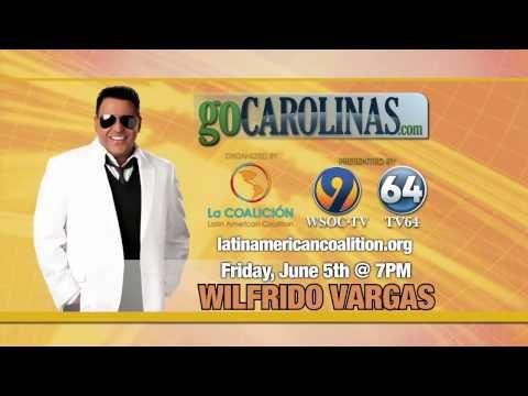 Prsenta: Wilfrido Vargas in Concert!  June 5, 2015 -  The Neighborhood Theatre Charlotte, NC  Invita: www.LatinAmericanCoalition.ORG