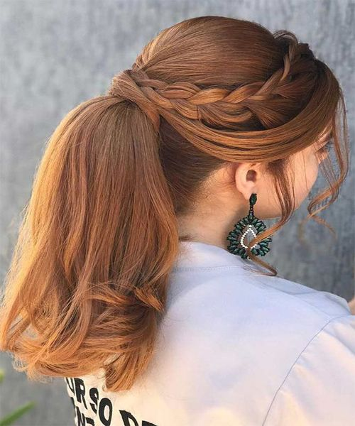 Ponytail Trendy Hairstyles for 2018.