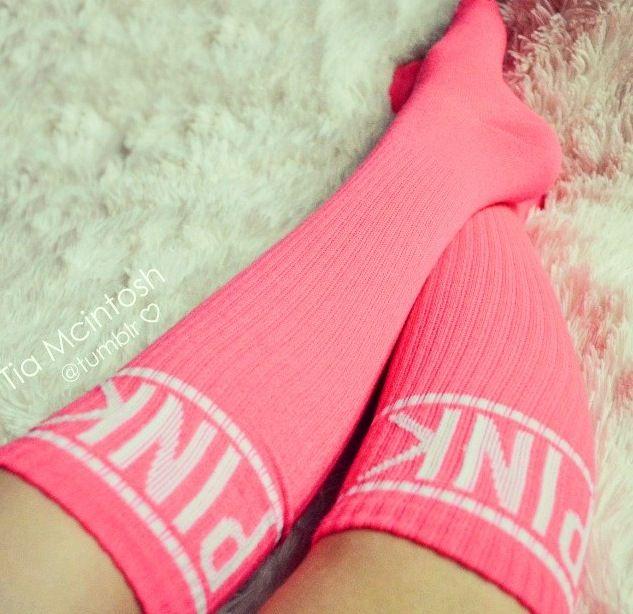 Naked girls pink sock-2128