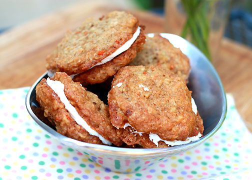 carrot cake sandwich cookies 045 | For my sweet tooth 2 | Pinterest