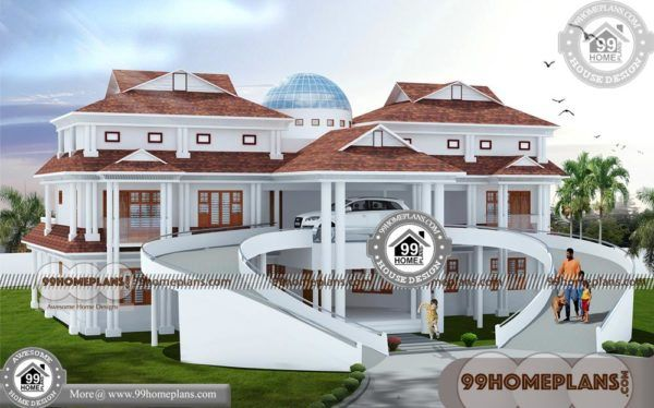 Luxury House Designs And Floor Plans 90 2 Storey House Design Plans 2 Storey House Design House Arch Design House Plans Mansion