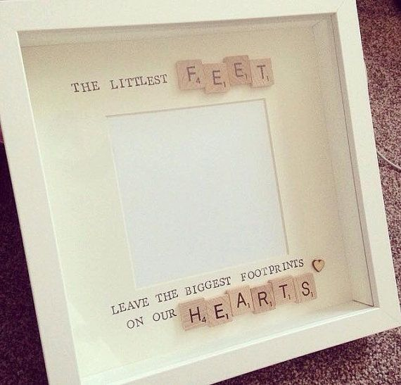 Special Scrabble Art Frame Quote. Perfect by FramesAndBeyond1