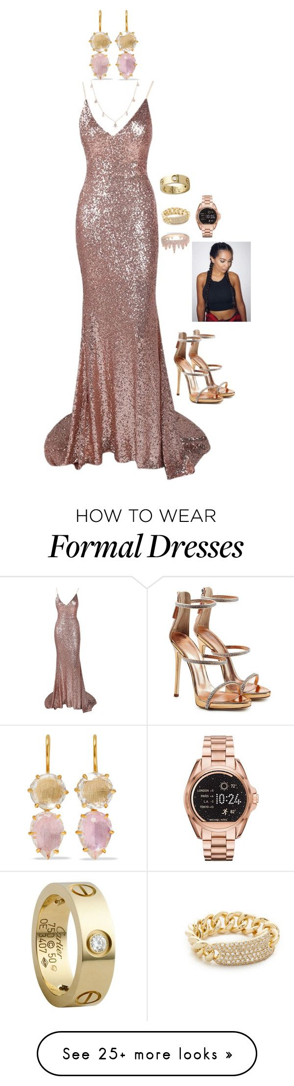 """Carmen: Hall of Fame 2017"" by lsd-and-halloweencandy on Polyvore featuring Larkspur & Hawk, Cartier, Shay, Anne Sisteron, Giuseppe Zanotti and Michael Kors"