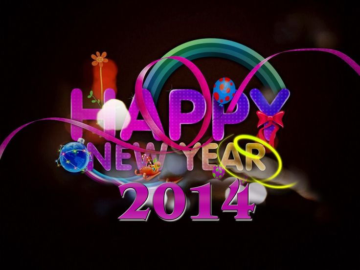 New Year 2014 Clip Art | merry christmas and happy new year 2014 cards | HD Wallpaper and ...
