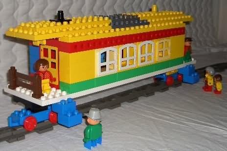 Duplo train caboose