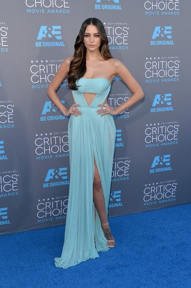 Genesis Rodriguez in #ReemAcra at the #CriticsChoiceAwards