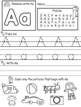 ABC Worksheets: Differentiated 3 Ways Great handwriting worksheets ...