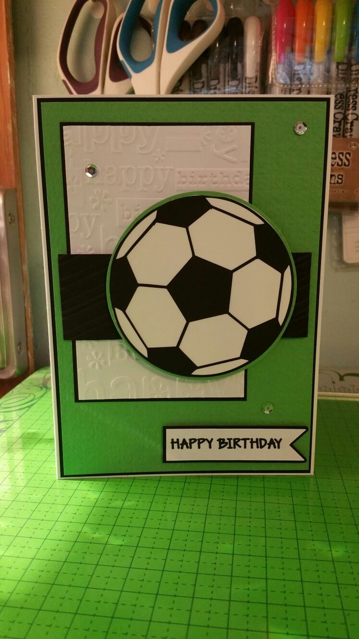 112 Best Soccer Card Stamping Ideas Images On Pinterest Football