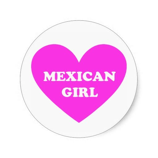 Mexican Girl Stickers