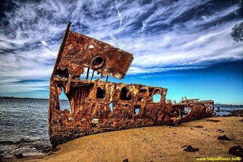 Gayundah Shipwreck, Redcliffe, Queensland