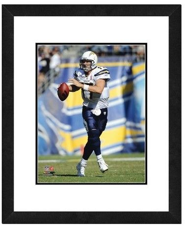 NFL San Diego Chargers Philip Rivers Framed Photo