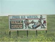 wall drug signs You see the signs for miles and you just have to stop