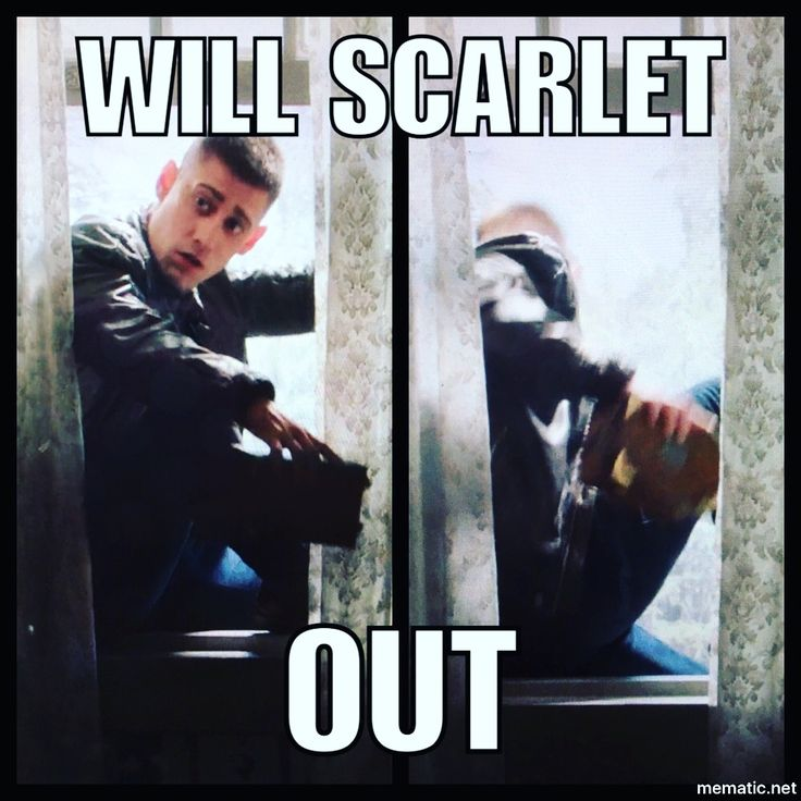 Will Scarlet Out